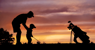 teach kids to play golf